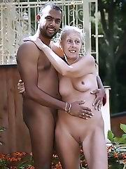 Very big pussy from old granny
