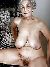 Grannies that are loving being naked outdoor or at home